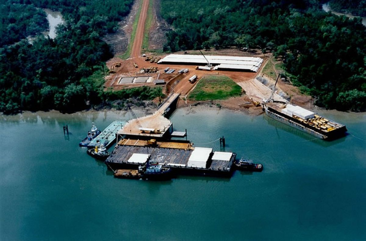 Mabey Floating Bridge - South East Asia