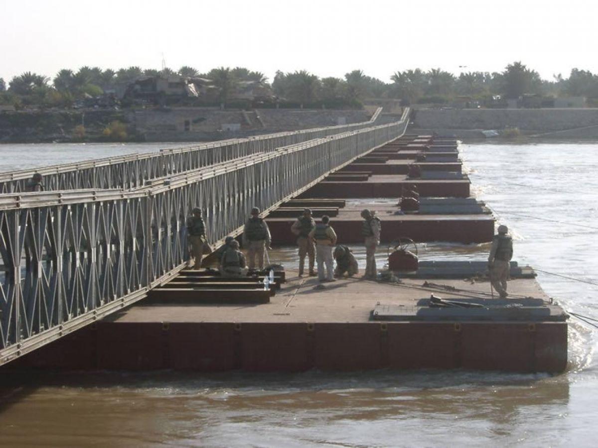 Mabey Floating Bridge, Tikrit - Iraq