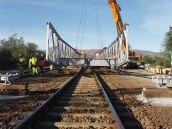 Mabey Emergency Rail Bridge