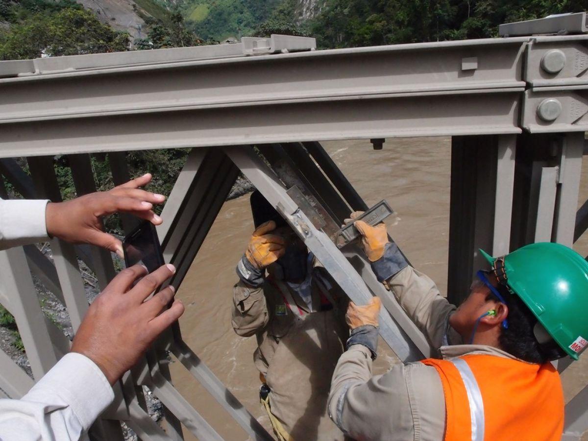 Bridge Damage Measurement Peru