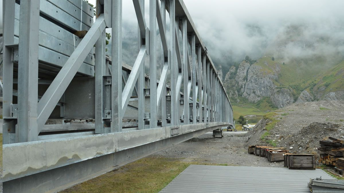 Chur access bridge