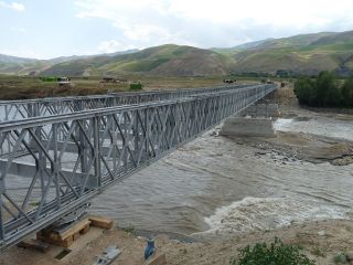 Kokcha River Bridge, Afghanistan