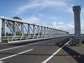 Caroni Delta Bridge, Trinidad and Tobago
