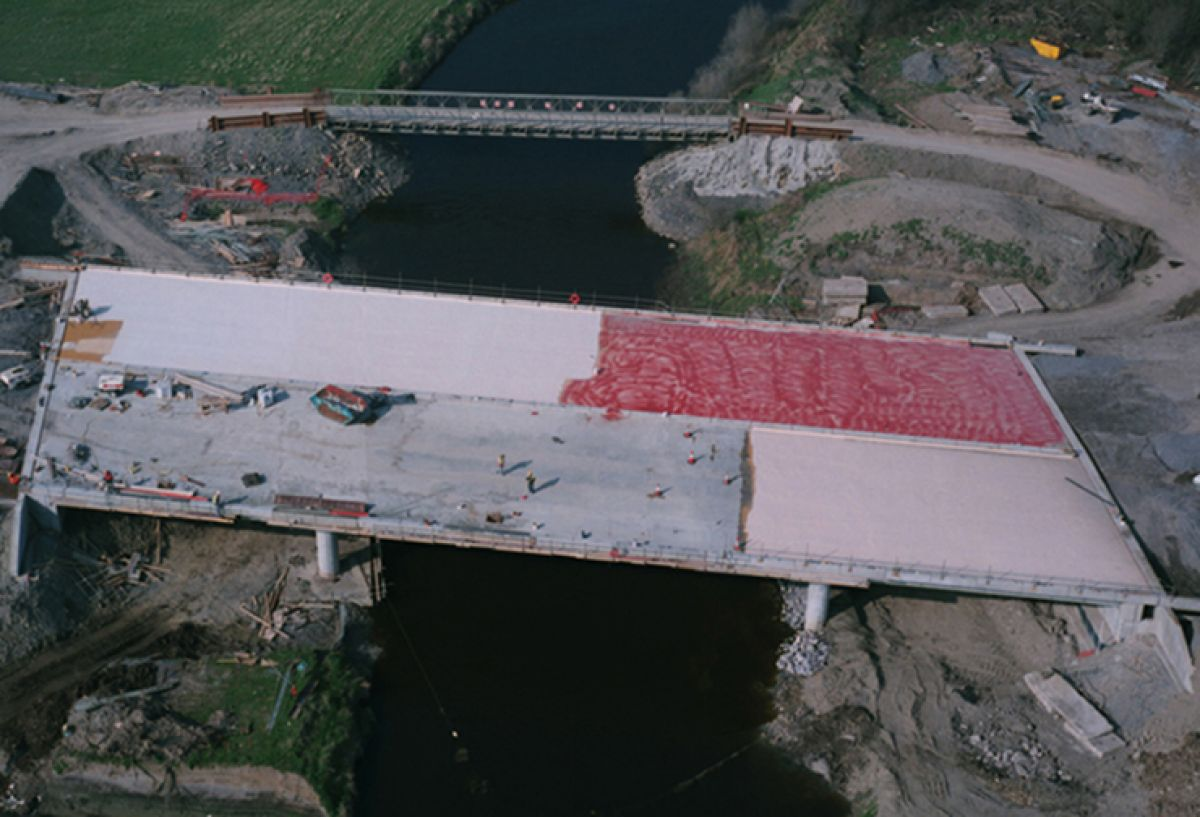 Construction Site Access Bridging, Ireland