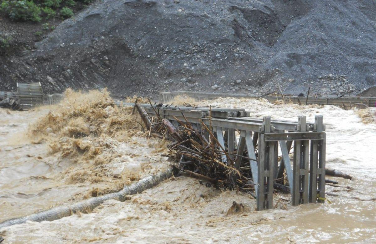 Flooding and Bridge Damage - Pakistan