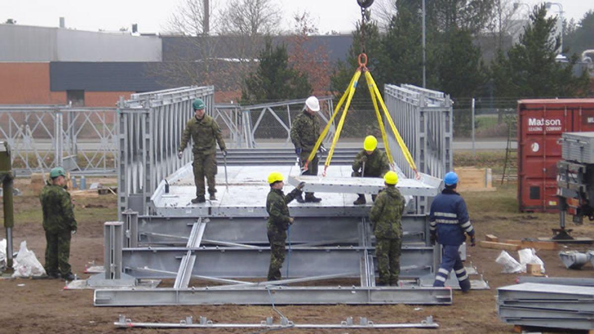 The Royal Danish Army Training