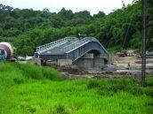 Sungai Arang Bridge, Sarawak, Borneo, Malaysia