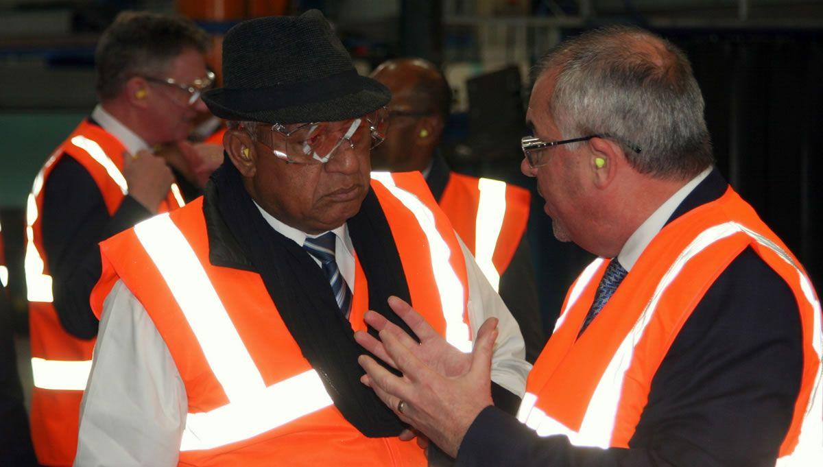 Mabey Bridge Welcomes Hon. Josaia V. Bainimarama, Prime Minister of the Republic of Fiji