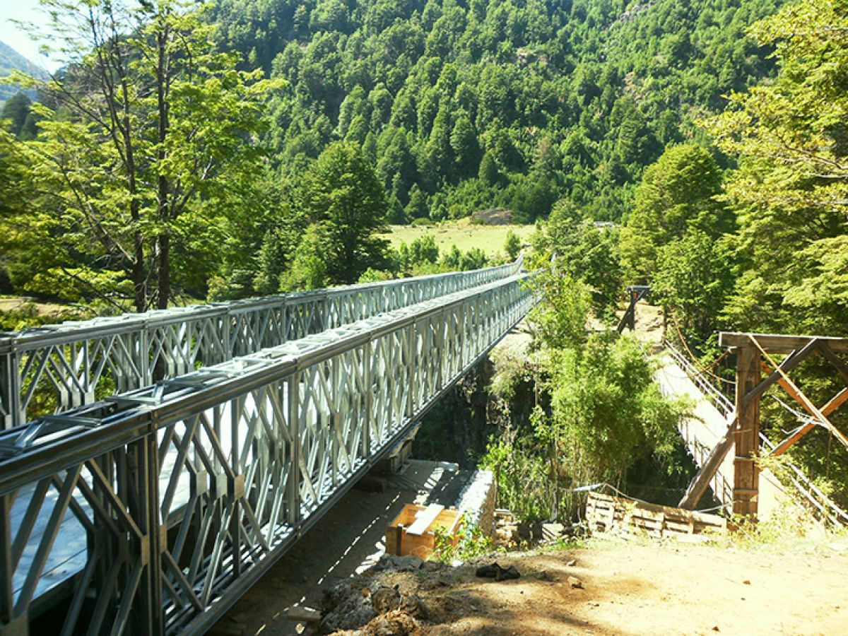 La Dificultad Bridge, Chile