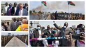 Juba Bridge - South Sudan Collage