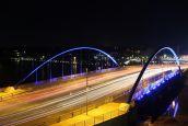 Mabey Polduwa Bridge, Sri Lanka, by Night