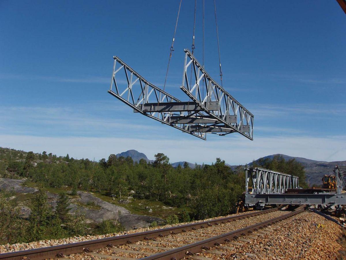 Mabey Universal Rail Bridge Norway