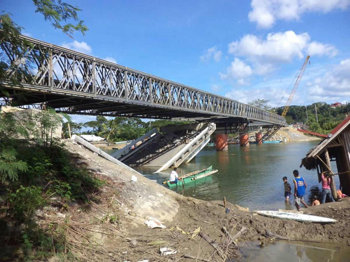 Bohol Island Emergency Bridge