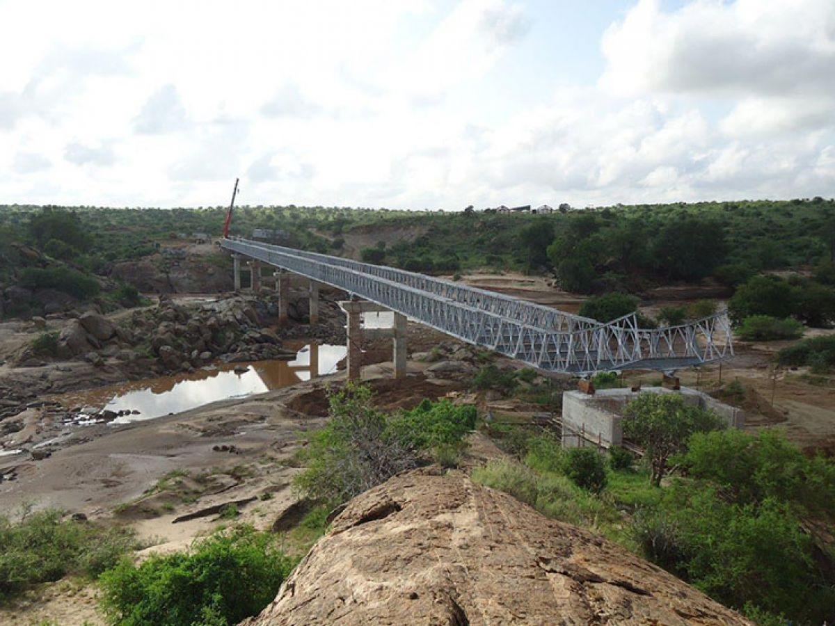 Galana River Bridge, Kenya