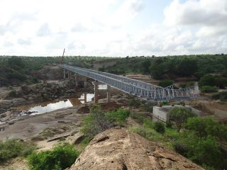 Galana River Bridge, Kenya