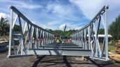 Mabey bridge training in Samoa