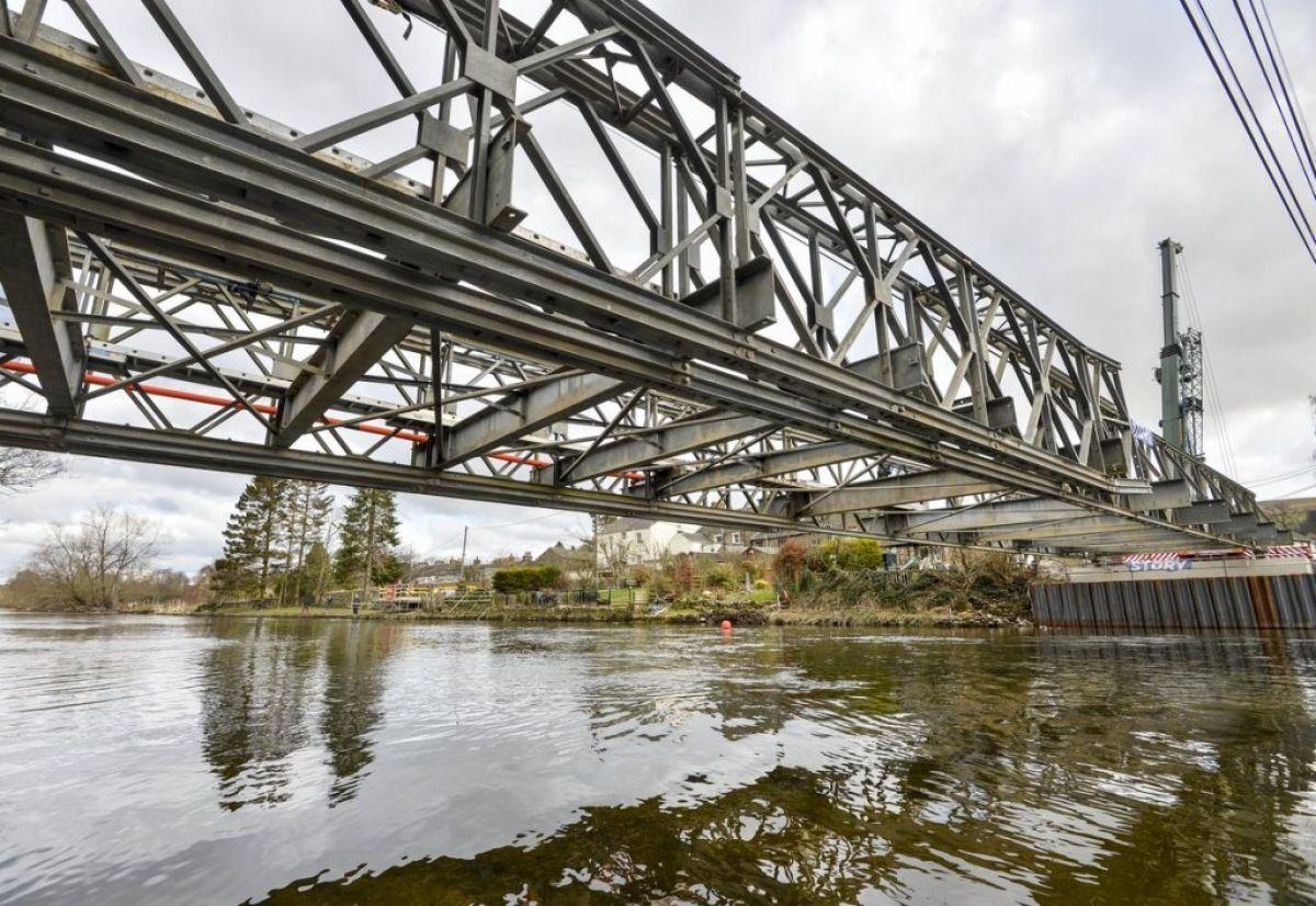 Pooley Temporary Bridge UK